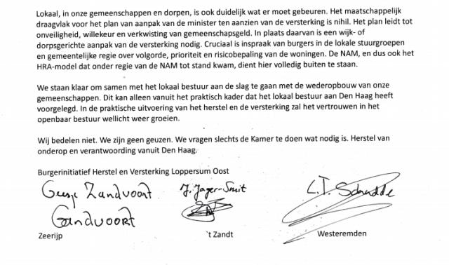 brief van bewoners 2